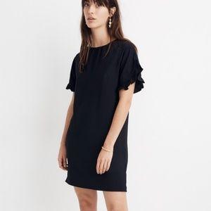 Madewell Dresses - Madewell Memento Ruffle-Sleeve Dress